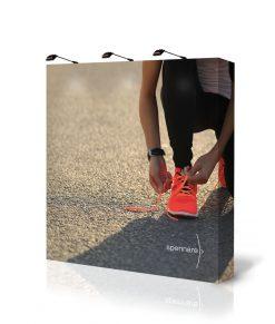 Montervägg / mässvägg / tygvägg med tryck. Köp Spennare Pop Up Textile S30 idag!