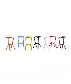 Miura stol stool pall barstol färger mässmöbler