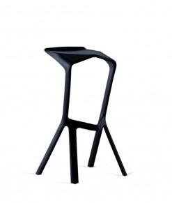 Miura stol stool pall barstol svart mässmöbler