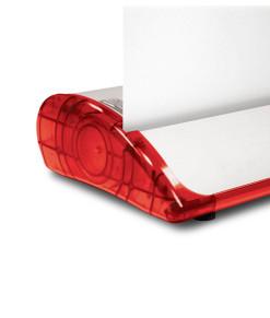 Expand QuickScreen3 QS3 transparent röd sida frontlist profil kassett rollup