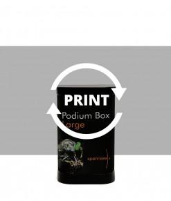 Nytt tryck till Spennare Podium Box Large. Beställ idag.