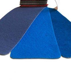Blå ljusblå nålfiltsmatta / mässmatta / montermatta / eventmatta - Bleu Clair 4969. Köp hel rulle eller måttbeställ storlek och form. Bra pris, snabb leverans Stockholm o Sverige.