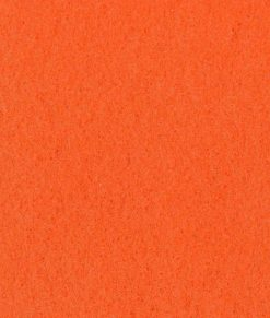 Orange nålfiltsmatta / mässmatta / montermatta / eventmatta - Mandarine 1333. Köp hel rulle eller måttbeställ storlek och form.