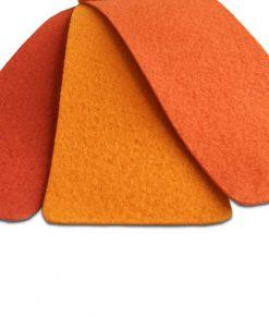 Orange nålfiltsmatta / mässmatta / montermatta / eventmatta - Orange 4970. Köp hel rulle eller måttbeställ storlek och form. Bra pris, snabb leverans Stockholm o Sverige.