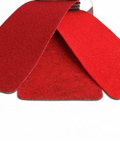 Röd melerad rödmelerad nålfiltsmatta / mässmatta / montermatta / eventmatta - Rouge Chine 4981. Köp hel rulle eller måttbeställ storlek och form. Bra pris, snabb leverans Stockholm o Sverige