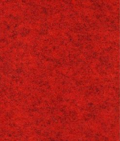 Röd melerad rödmelerad nålfiltsmatta / mässmatta / montermatta / eventmatta - Rouge Chine 4981. Köp hel rulle eller måttbeställ storlek och form.