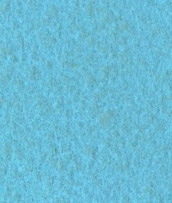 Turkos nålfiltsmatta / mässmatta / montermatta / eventmatta - Bleu Ciel 4912. Köp hel rulle eller måttbeställ storlek och form.