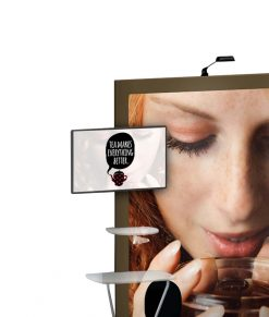 Expand GrandFabric monitorhållare/TV-fäste/VESA-fäste. Till mässvägg/montervägg/mässmonter. Köp idag!