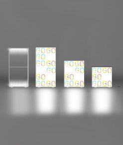 Ljusväggar, Ljuslådor & Bakbelyst