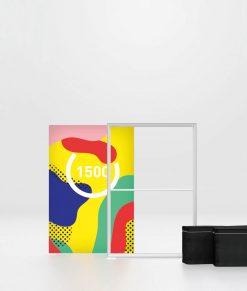 Ljuslåda med tryck på fot / golv. Finns flera storlekar. Köp Pixlip Go Lightbox 100x150 cm idag!