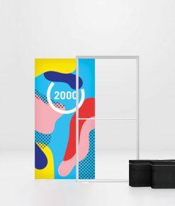 Ljuslåda med tryck och LED-belysning. Köp Pixlip Go Lightbox 100x200 cm idag!